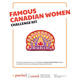 Famous Canadian Women Challenge Kit PDF