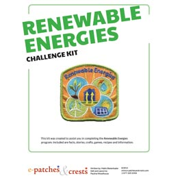 Renewable, Energies, Energy, Recycle, Wind, Hydro, Meeting, Idea, Program Kit, Challenge Kit, Program Planning, Meeting Ideas, Girl Guides, Girl Scouts, Girl Scout Activities,