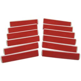 Adhesive Pin Back 12 Pack (7mm x 36mm)