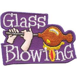 Glass Blowing (Iron On)