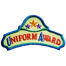 Uniform Award (Iron On)