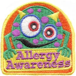 Allergy Awareness (Iron On)