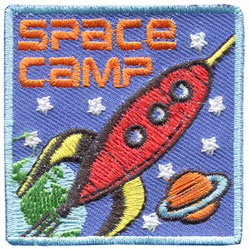 Space Camp (Iron On)