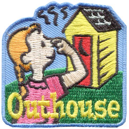 Outhouse - Girl (Iron On)