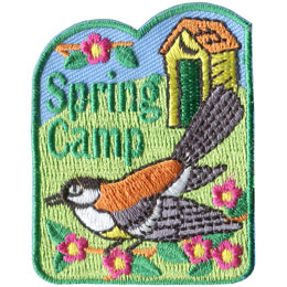 Spring Camp (Iron On)