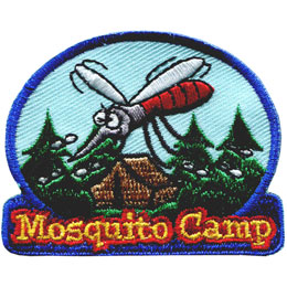 Mosquito Camp (Iron On)