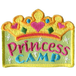 Princess Camp (Iron On)