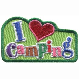 I Love Camping (Iron On)