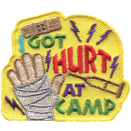 I Got Hurt At Camp (Iron On)