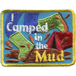 I Camped in the Mud (Iron On)