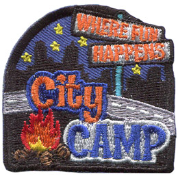 City Camp (Iron On)