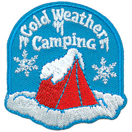 Cold Weather Camping (Iron On)