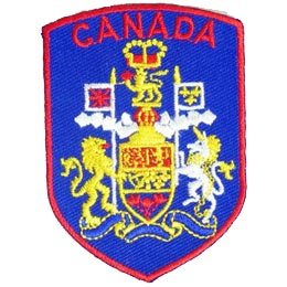 Canada Coat of Arms Shield (Iron On)