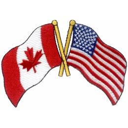 Canada USA Friendship (Iron On)
