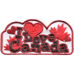 I Love Canada (Iron On)