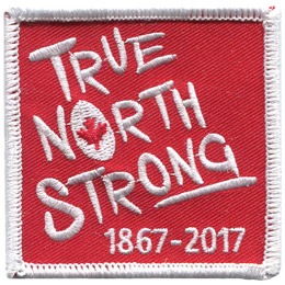 True North Strong (Iron On)