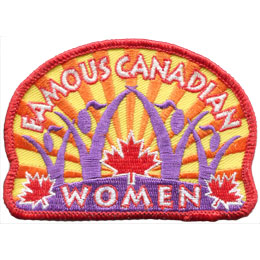 Famous Canadian Women (Iron On)