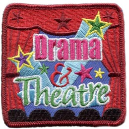 Drama & Theatre, Drama and Theatre, Theatre, Drama, Stage, Curtains, Lights, Star, Camera, Actor, Actress, Screen, Play, Action, Girl Guides, Girl Scouts, Meeting Plan, Challenge Kit, Program, Plan