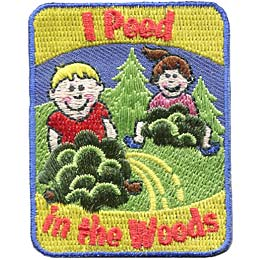 I Peed In The Woods (Iron On)