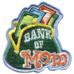 Bank of Mom (Iron On)