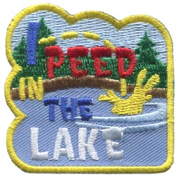 I Peed In The Lake (Iron On)