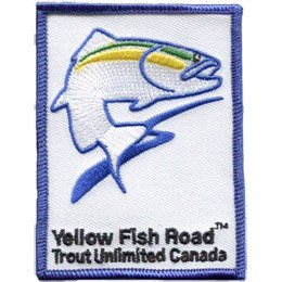 Yellow Fish Road New (Iron On)