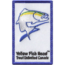 Yellow Fish Road 2018 (Iron On)
