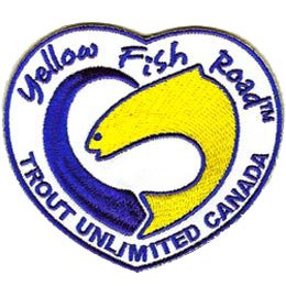 Yellow Fish Road (Iron On)