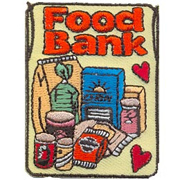 Food Bank (Iron On)