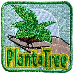 Plant A Tree (Iron On)