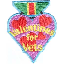 Valentines For Vets (Iron On)