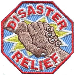Disaster Relief (Iron On)