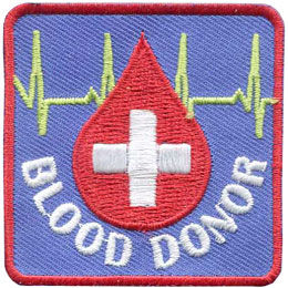 Blood Donor (Iron On)