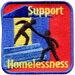 Support Homelessness (Iron On)