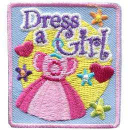 Dress A Girl (Iron On)