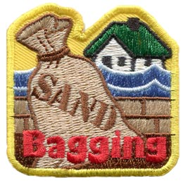 Sand Bagging (Iron On)