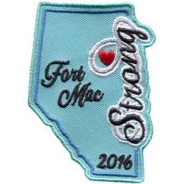 Fort Mac Strong 2016 (Iron On)