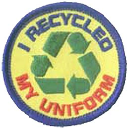 I Recycled My Uniform
