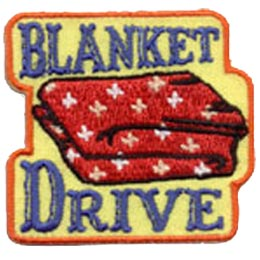 Blanket, Drive, Quilt, Patch, Embroidered Patch, Merit Badge, Crest, Girl Scouts, Boy Scouts, Girl Guides
