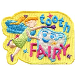 Tooth Fairy (Iron On)