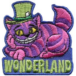 Wonderland - Glow In The Dark (Iron On)