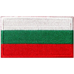 Bulgaria's flag consists of three horizontal bars: white, green, and red.