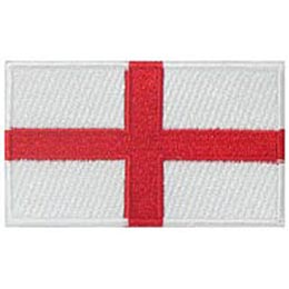 England, London, Flag, Patch, Embroidered Patch, Merit Badge, Iron On, Iron-On, Crest, Girl Scouts