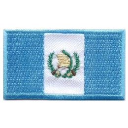 Guatemala, Flag, Country, Patch, Embroidered Patch, Merit Badge, Iron On, Iron-On, Crest, Girl Scouts