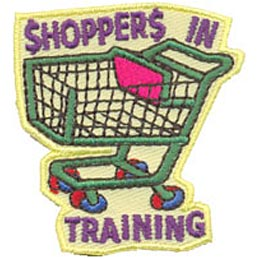 Shoppers In Training (Iron On)