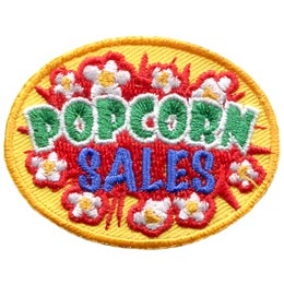 Popcorn Sales (Iron On)