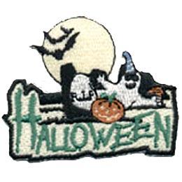 Halloween Moon & Ghost
