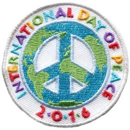 International Day of Peace 2016 (Iron On)