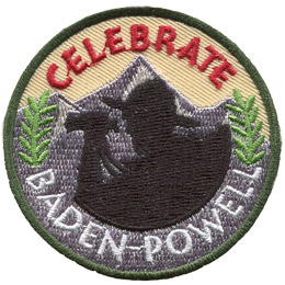 Celebrate Baden-Powell (Iron On)