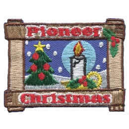 Pioneer Christmas (Iron On)